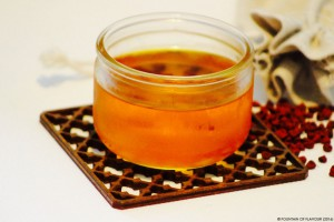 Annatto drink 'Yellow River' - Fountain of Flavour
